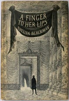 A Finger To Her Lips Cover Illustration by Edward Gorey