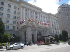 The most gorgeous hotel The Fairmont San Francisco #Budgettravel
