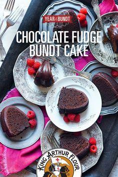 Chocolate Fudge Bundt and tips for baking bundt cakes