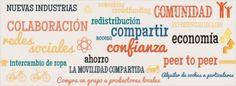 Compartir, una nueva forma de vida → consumo colaborativo compartir.peer to peer alquileres colaboracion intercambio