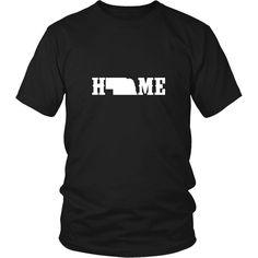Nebraska State Home Shirt
