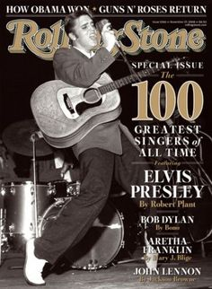 """Elvis - """"On the Cover of the Rolling Stone"""""""