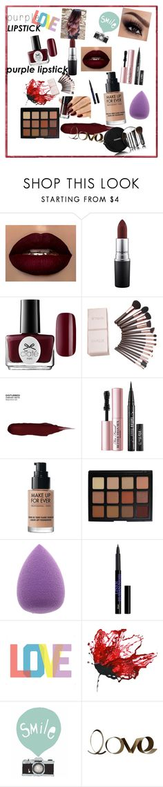 """""""Untitled #126"""" by fuadaikanovic ❤ liked on Polyvore featuring beauty, MAC Cosmetics, Ciaté, Urban Decay, MAKE UP FOR EVER, Morphe, Chanel and PBteen"""