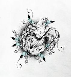 Little Fox  Art Print                                                                                                                                                                                 More