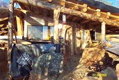 An owner-built underground cob house
