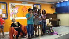 Sala de Leitura - Diretoria de Ensino de Ourinhos - Município de Chavantes - Escola Ernesto Fonseca Doutor.