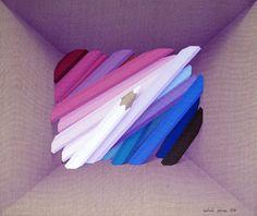 "Saatchi Art Artist Adrià Pina; Painting, ""Capsa, bomba de color, 4"" #art"