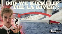 """Did We Kickflip the LA RIVER ?!?!(MUST WATCH) – MannysWorld: * MannysWorld – THANKS to all you guys liking GARRETTS """"LA RIVER"""" video over…"""