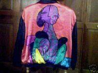 Jacket Pop Culture Art Large Julia MIichaels Sexy hot