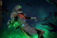 League of Legends. Fiddlesticks. 5 by aKami777.deviantart.com on @DeviantArt