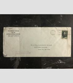 1948 Moscow Russia USSR US Embassy cover USA Diplomatic Mail to Bronx NY 1
