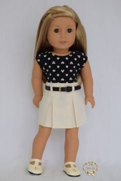 American girl doll clothes Tee