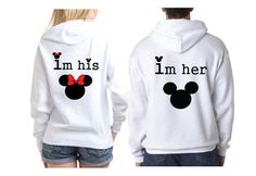 Image result for his minnie her mickey