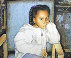 Cascayla Waits - Mixed Media Painting