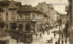 Old city of Sofia, Bulgaria, year 1900