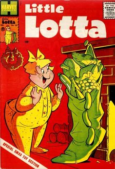 Little Lotta I totally forget about this comic , mostly remember little lula and dot
