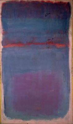 …jeanetic code…  Mark Rothko - Untitled, 1949, oil on canvas