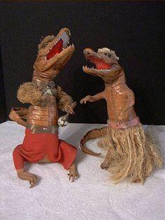 Alligator Hula Vintage Taxidermy