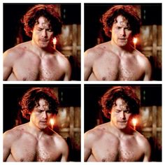 A little @SamHeughan to help with the Monday blues @JeSuisPrestNow