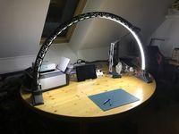 Led bridge lamp Universal Segment by Opossums