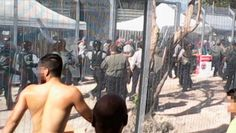 """A massive hunger strike is underway at what some are calling """"the Guantánamo Bay of the Pacific."""" The Manus Island detention center is paid for by the Australian government and run by an Australian contractor, Transfield Services, but located offshore on Papua New Guinea's soil. The inmates are not accused of any crimes — they are asylum seekers from war-ravaged countries who are waiting indefinitely for their refugee status determinations. They are asking the United Nations to intervene ..."""