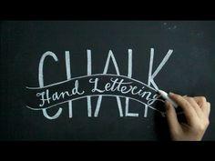 チョークレタリングで大人黒板、手書きで楽しむチョークアート黒板(chalkart:lettering)