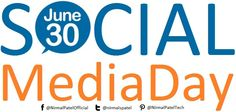 "What is interesting is the power and the impact of social media... So we must try to use social media in a good way. ""HAPPY SOCIAL MEDIA DAY"" 