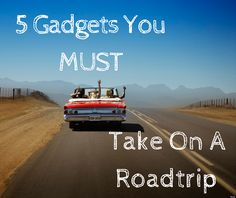 5 Cool Gadgets you must have on Road Trip [Travel]    If you are traveler or a guy who like to travel different places or going in road trip or any tour with your friends. There is no doubt that too much fun in road trips but many time it trouble because of some problem so thats why I am writing this to solve your problem so now if you go on any road trip you must have these gadget for perfect journey without any problem. So have a look at below.  Overview:  1. 5 Port Car Charger  2. Car…