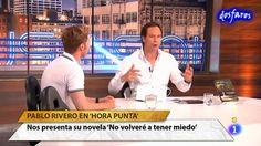"""PABLO RIVERO. Promoción """"NO VOLVERÉ A TENER MIEDO"""" en """"Hora Punta"""" (18.0..."""
