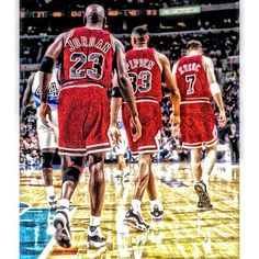 Not a big NBA guy, but anyone who says that these Chicago Bulls weren't some of the greatest, or that LeBron or Kobe is a better ball player than MJ, is absolutely off their rocker.