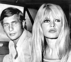 Brigitte Bardot and Gunter Sachs arrive in Las Vegas, one day before of their wedding. July 1966. #BrigitteBardot #Bardot #BB #LasVegas #Vegas #Nevada #casino #usa #1960s #1966 #gorgeous #beauty #blonde #blondebombshell #superstar #vintage #icon #love #idol