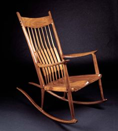 It is one of my acquisitional goals in life to own a Sam Maloof chair.