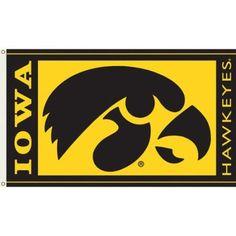 Ncaa Iowa Hawkeyes 3' x 5' Flag, Multicolor