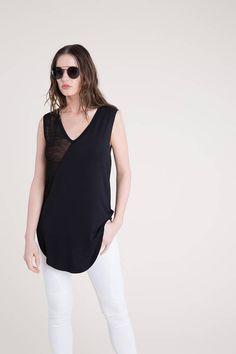 NEW Long Tunic / Sheer Tunic / See-through Shirt / Summer