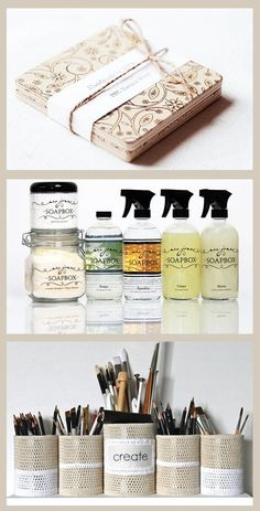 eco-friendly home made projects.
