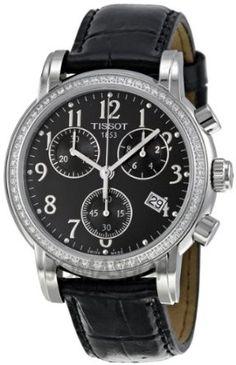 Tissot Womens T050.217.16.052.01 Black Dial Dressport Watch | The 247 Market