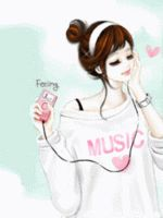 I'm looking from a variety of sources and gather into one like this. Just for you, Korean Anime Lovers! ^o^ ^o^ ^o^ ^o^ Korean Anime Couple Cute Cartoon Pictures, Cute Cartoon Girl, Girly Pictures, Cartoon Pics, Kawaii Anime Girl, Anime Art Girl, Manga Girl, Anime Korea, Korean Anime