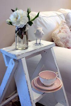 A Vintage Ladder - Annie Sloan Chalk Paint
