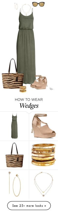 """""""Maxi Dress"""" by ksims-1 on Polyvore featuring MICHAEL Michael Kors, Michael Kors and Ashley Pittman"""