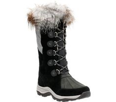 Clarks Womens Wintry Hi Waterproof High BootBlack Cow SuedeNubuckUS 5 M *** Continue to the product at the image link.(This is an Amazon affiliate link and I receive a commission for the sales)