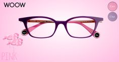 #woow #wooweyewear Mod. Get Out1 col.1701 #pink #flamingo inspiration.  http://www.wooweyewear.com/getout1.htm