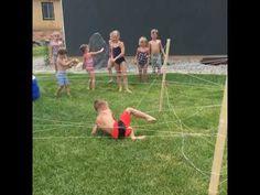 Ultimate Ninja Warrior Kid Obstacle Course Idea - Lou Lou Girls