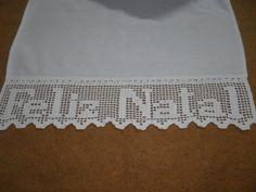 Imagem relacionada Crochet Boarders, Crochet Squares, Crochet Patterns, Filet Crochet, Knit Crochet, Tapestry Crochet, Foot Tattoos, Xmas Decorations, Free Pattern