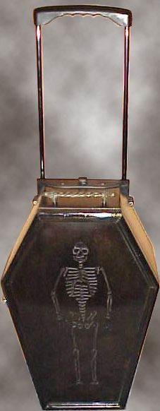 The carry on coffin luggage - lol don't know if this is quite my style but it's definitely interesting :-)