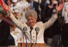 Ann Richards, Texas Governor.