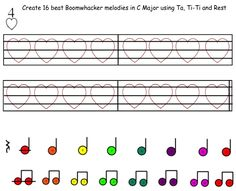 Composing With Boomwhackers (SmartBoard Activity)