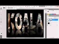 Photoshop CC 2014: máscaras de capa, máscaras vectoriales - YouTube