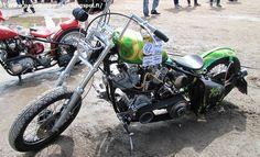 Kustom motorbike