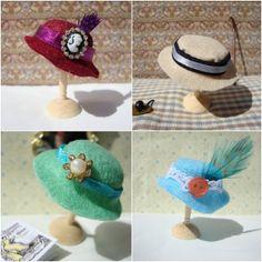 Miss Beatrix: How to Make a Miniature Hat