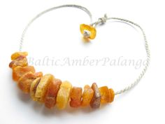 Raw Baltic Amber Necklace by BalticAmberPalanga on Etsy